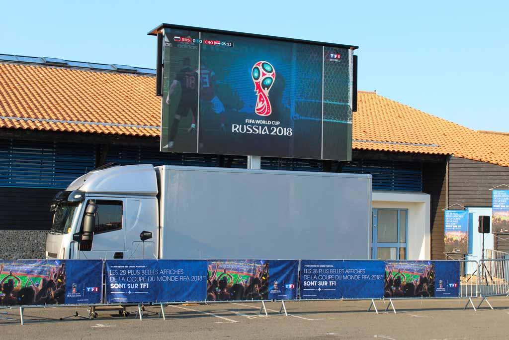 Location camion écran géant